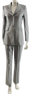 Escada Escada Wool/ Silk Blend Fitted Business Pant Suit