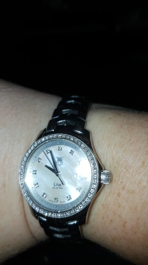 TAG Heuer TAG HEUER Link Diamond Silver Dial Stainless Steel Ladies Watch