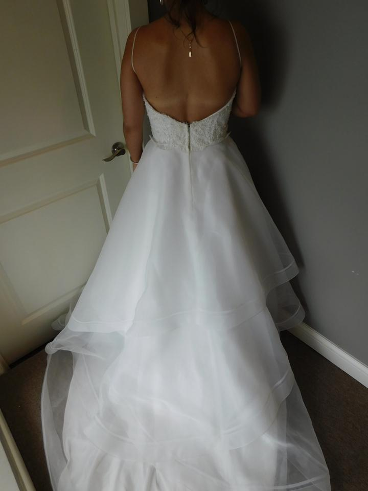 Paloma blanca 4555 wedding dress on sale 25 off for Paying for a wedding dress