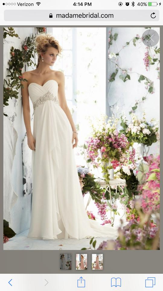 Mori lee 6766 wedding dress on sale 60 off wedding for Mori lee wedding dress sale