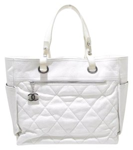Chanel Tote in White Ivory