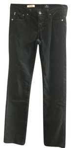 AG Adriano Goldschmied Cords Anthropologie Straight Pants Green