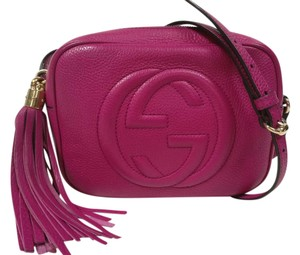 9ccf038e76c Gucci Soho Disco Camera Leather Cross Body Bag