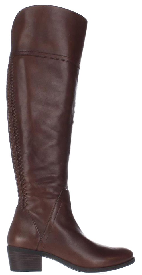 Vince Camuto Brown Bendra Woven Over-the-knee Woven Bendra Boots/Booties 5d6aed