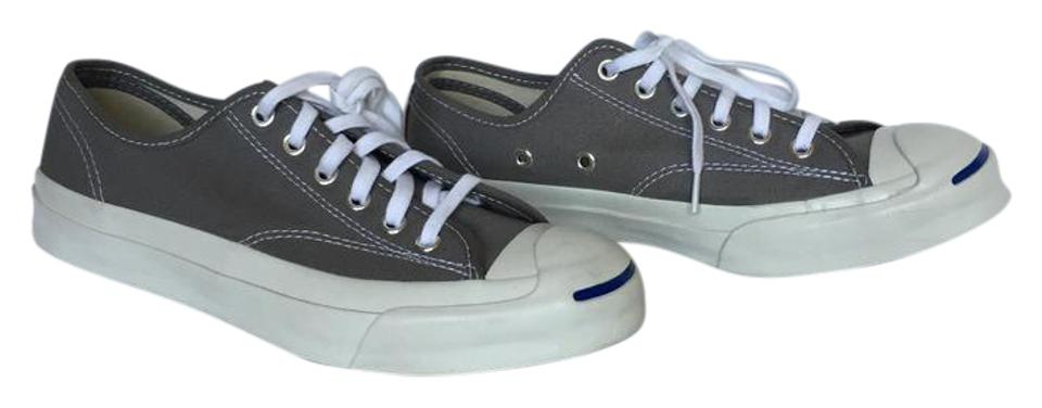 3ea2b33a545 Converse Grey and White Jack Purcell Sneakers. Size  US 6.5 Regular (M ...