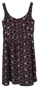 Nine West short dress purple with white stitch design on Tradesy