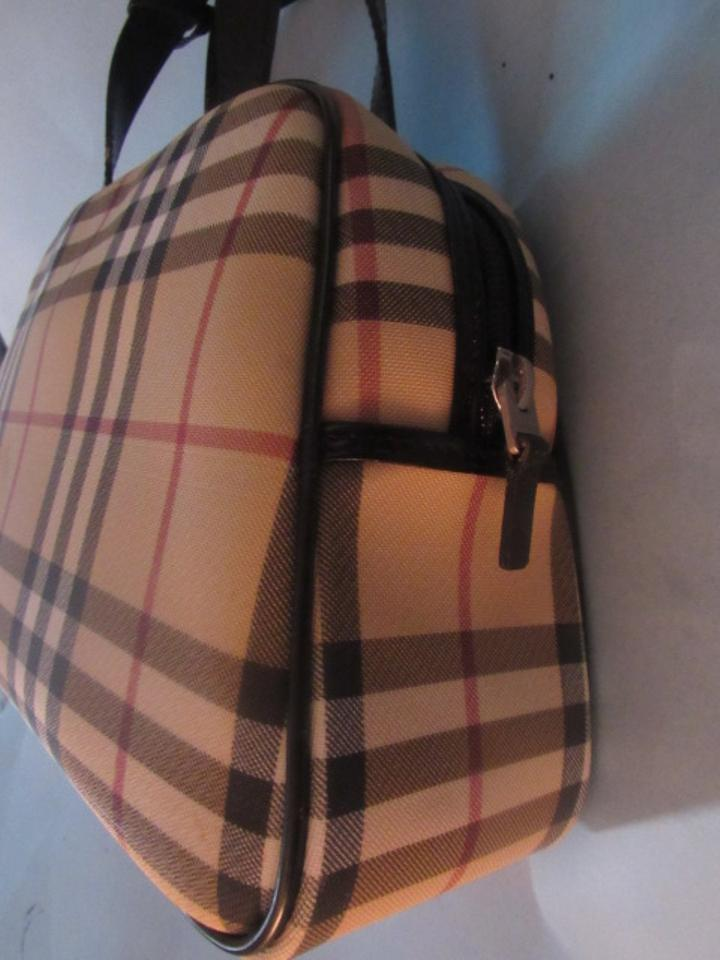 Burberry Perfect For Everyday Classic Roomy And Practical Signature Piece  Great For Everyday Satchel in Brown. 1234567891011 7c4579f9d950f