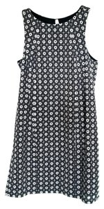 Tori Richard short dress Navy and White Cotton Keyhole Classic on Tradesy