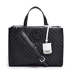 Guess Satchel in Black and White
