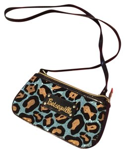 Betseyville Wristlet in black blue gold
