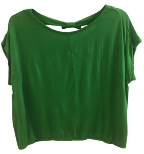 Marc by Marc Jacobs Bow Crop T Shirt Green