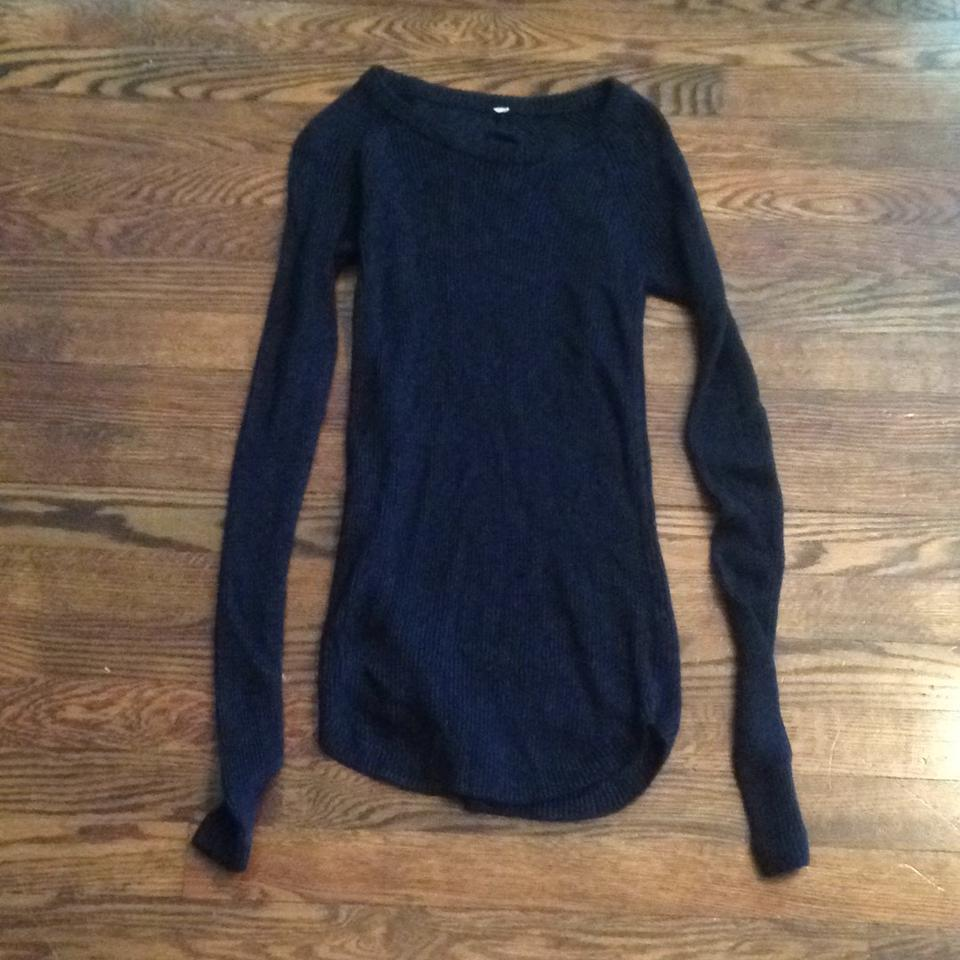 ff0611d516 Lululemon Charcoal Merino Wool Sweater Activewear Top Size 4 (S ...