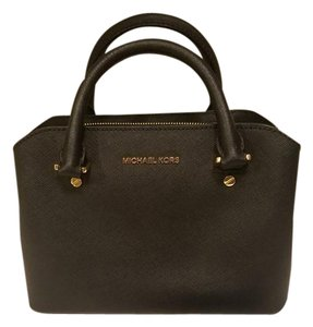 Michael Kors Mk Kors Satchel in Black
