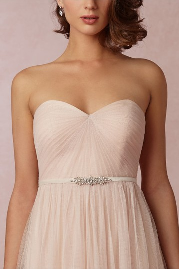 BHLDN Grey Fitted Belt / Jenny Yoo Collection: Mischka Sash Image 1