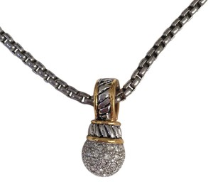 Unik unknown brand. got as gift. looks like David Yurman but I CANT say I know if it is or not. never worn, not my style