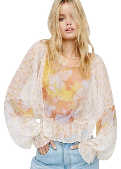 Preload https://img-static.tradesy.com/item/21782498/free-people-peach-into-the-wilderness-blouse-size-8-m-0-1-650-650.jpg
