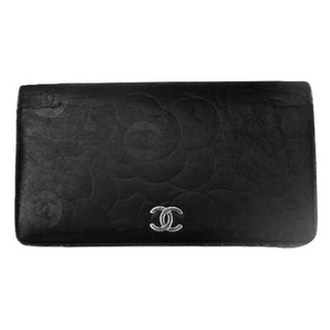 ae36011f1291 Chanel CHANEL Camellia Long Portefeuille Wallet with Original Receipt