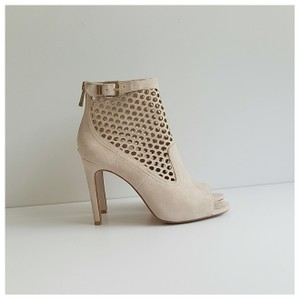 Vince Camuto Perforated Suede Vince nude Boots