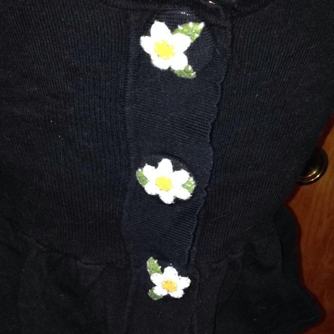 Anthropologie Felt Buttons Daisy Cotton Hwr Cardigan