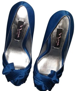Nina Shoes Blue Formal