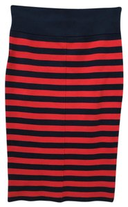 Juicy Couture Skirt Navy and Red