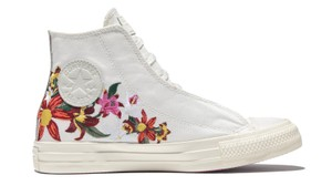 Converse Embroidered Patbo Floral Limited Edition White Athletic