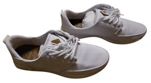 Reef Lace Up Canvas White Athletic