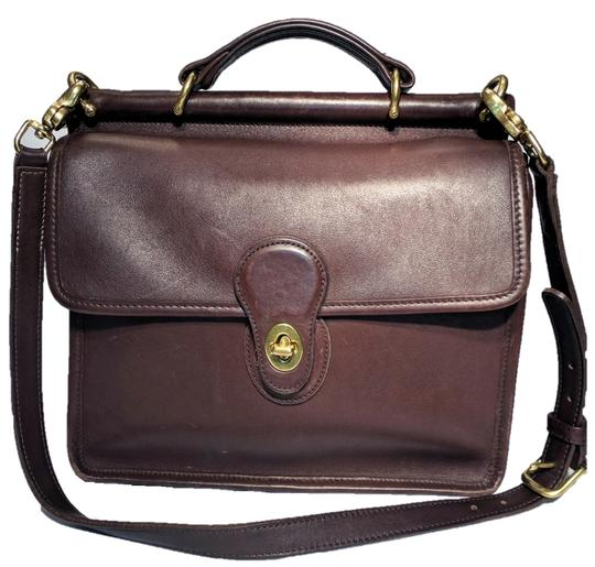 Coach Willis Vintage Crossbody Station 9927 Mahogany Brown Leather ... cf65152c2364e