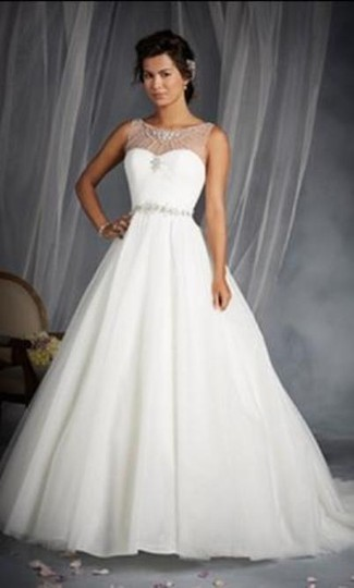 Alfred Angelo White Silver Shimmer