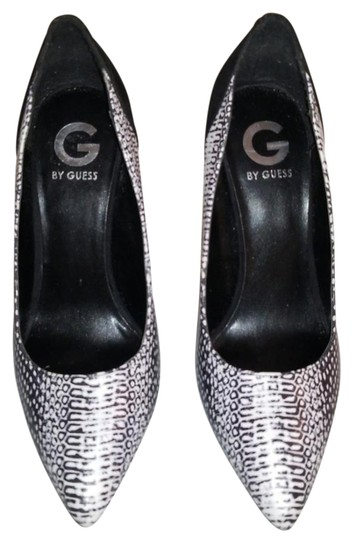 Guess Stiletto Date Night Party Black, grey, white Pumps