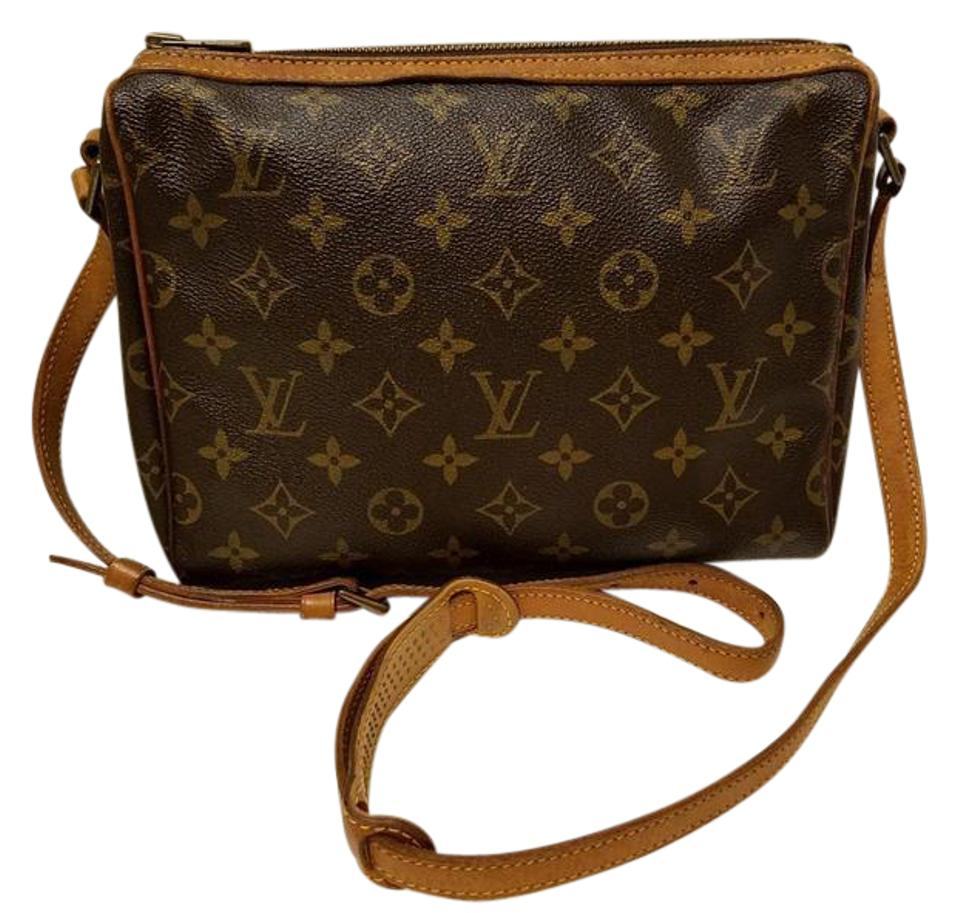 Louis Vuitton Tuileries Vintage with Coa Brown Monogram Coated ... a5dd7c384c70f