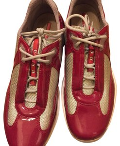 Prada Sneakers red Athletic