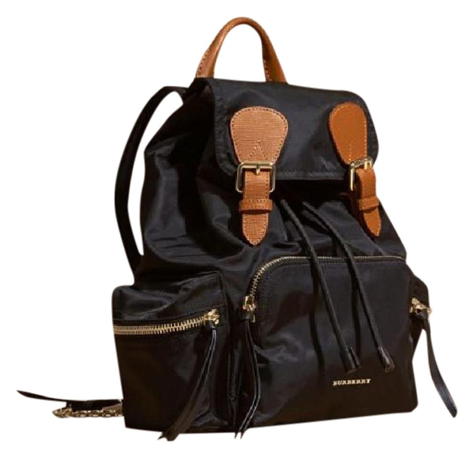 a27026d949a59 Burberry Medium Rucksack Black Nylon and Leather Backpack - Tradesy