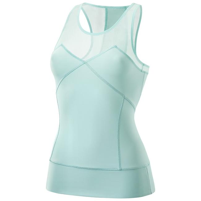 Item - Green Mesh Athletic Activewear Top Size 4 (S)
