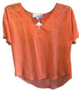 Beyond Vintage Top orange