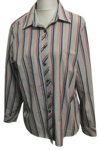 Foxcroft Button Down Shirt Multi