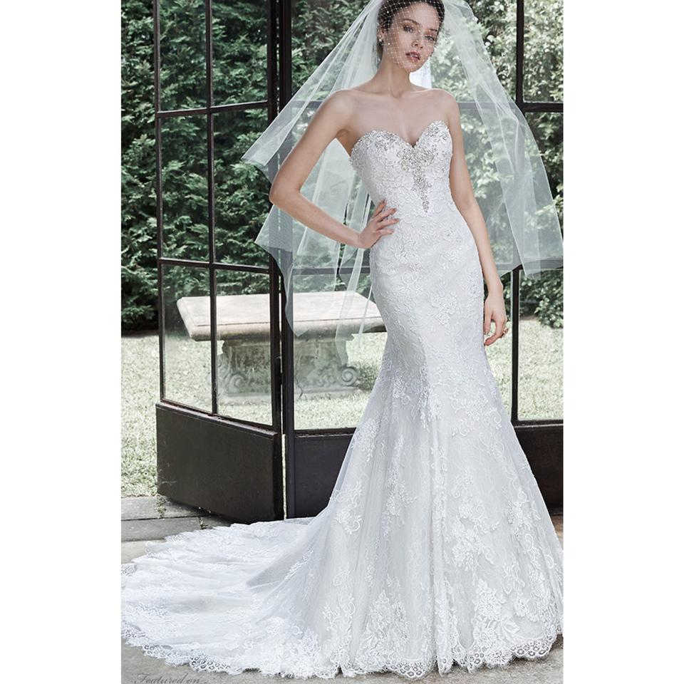Maggie sottero mermaid dress wedding dress on sale 45 for Maggie sottero wedding dress sale
