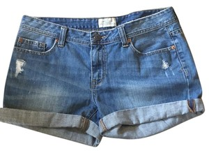 Aéropostale Denim Shorts-Distressed