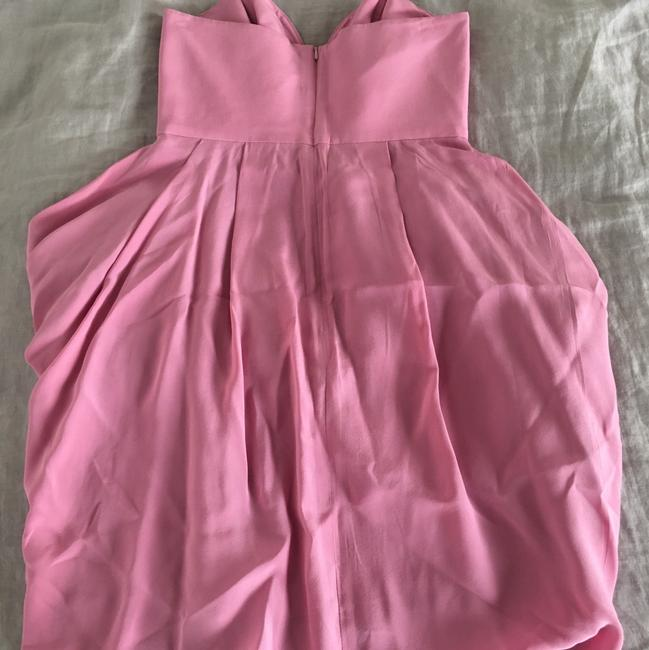 ZIMMERMANN short dress pink on Tradesy