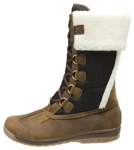 Helly Hansen Brown and Navy Boots