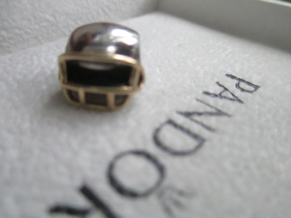 a3f477883 PANDORA Authentic Pandora #790570 Football Helmet with 14k Gold charm bead  Image 4. 12345