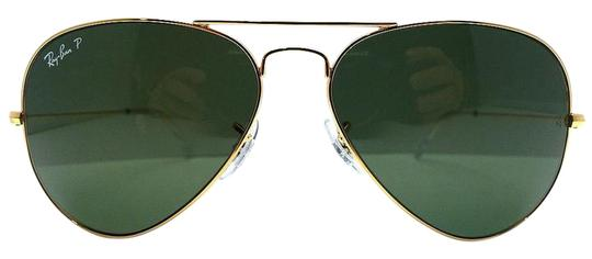 1f41c73f4d Ray-Ban Ray-Ban RB 3025 Aviator Very Large Lens 62 mm Green Polarized ...
