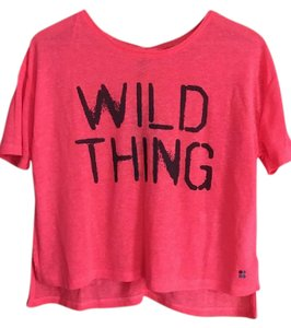 Sweaty Betty Wild Thing Slogan Tee