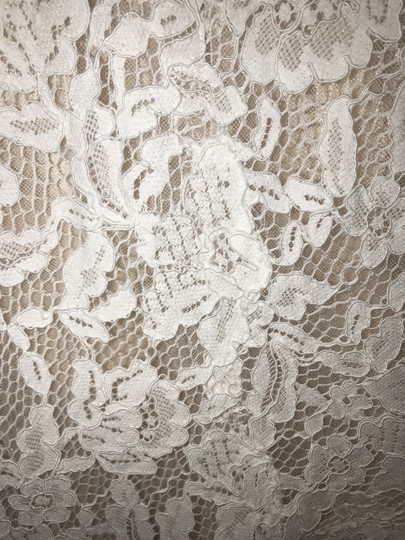 BHLDN Ivory/Champagne Lace Carson Gown Feminine Wedding Dress Size 4 (S) Image 2