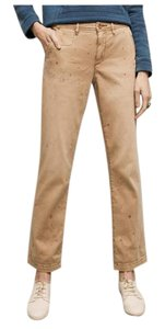 Anthropologie Relaxed Pants Beige