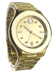Movado Movado Gold Plated Bold 38mm