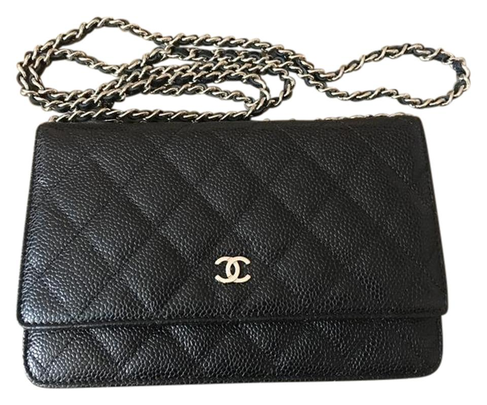 5b0c6427eb7e Chanel Wallet on Chain Classic Quilted - Black Silver Black with ...