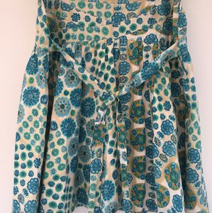 Marc Jacobs Skirt Blue, green, gold and cream