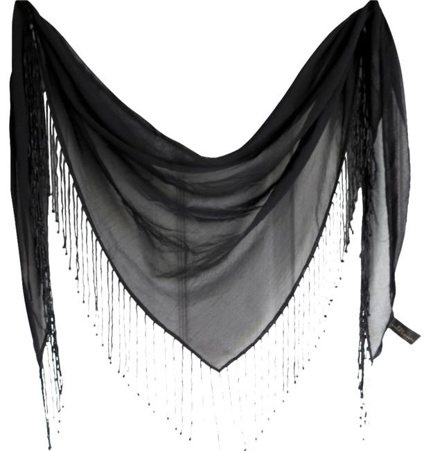 Item - Black Triangular Scarf/Wrap