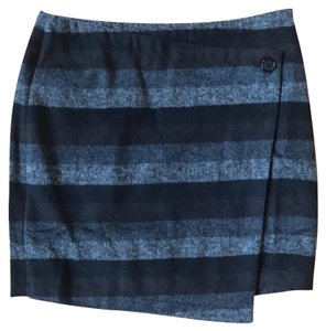 Tulle Mini Skirt Striped